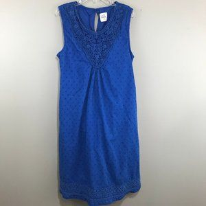 Mini Boden Royal Blue Sleeveless Dress Size 14